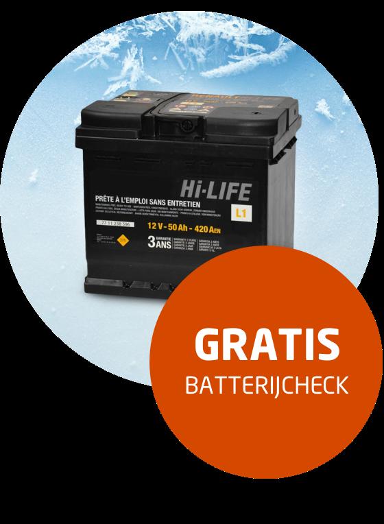 <h2>Laat uw batterij gratis controleren  </h2>