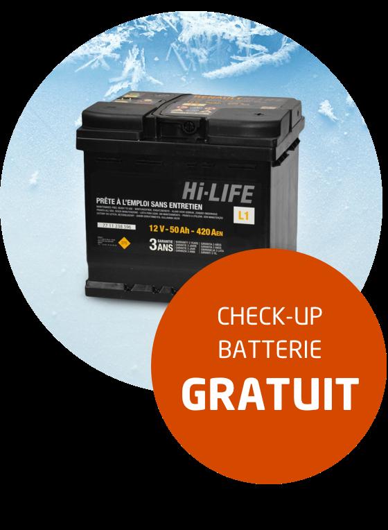 <h2>Faites réaliser un check-up gratuit de votre batterie </h2>